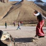 Fußballspiel in Marokko